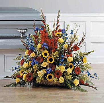 Arrangements-16 Funeral Arrangement Flowers