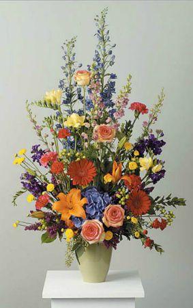 Arrangements-17 Funeral Arrangement Flowers