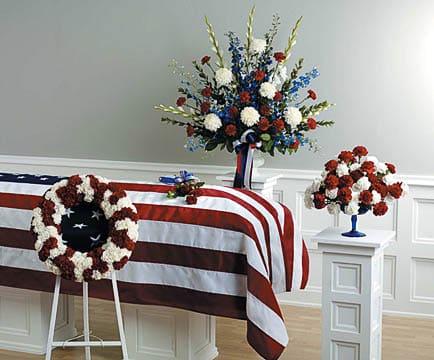 Arrangements-23 Funeral Arrangement Flowers