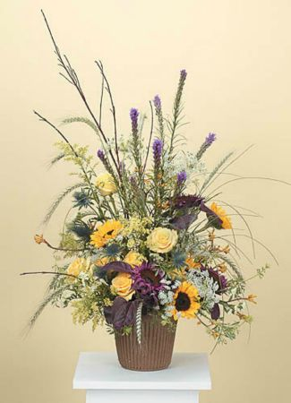 Arrangements-8 Funeral Arrangement Flowers