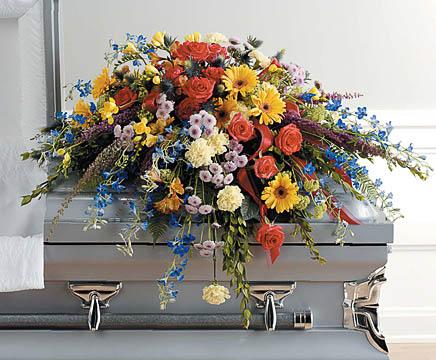 Casket-Florals-10 Funeral Casket Flowers