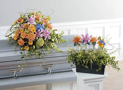 Casket-Florals-15 Funeral Casket Flowers