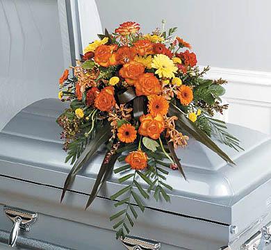 Casket-Florals-23 Funeral Casket Flowers
