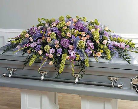 Casket-Florals-25 Funeral Casket Flowers