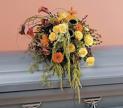 Casket-Florals-3 Funeral Casket Flowers