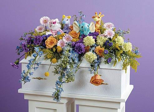 Casket-Florals-39 Funeral Casket Flowers