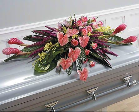 Casket-Florals-41 Funeral Casket Flowers