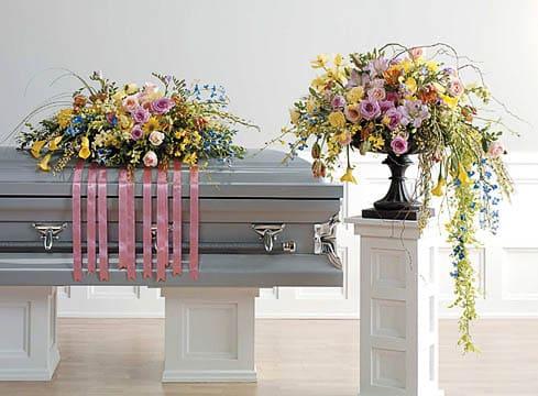 Casket-Florals-9 Funeral Casket Flowers