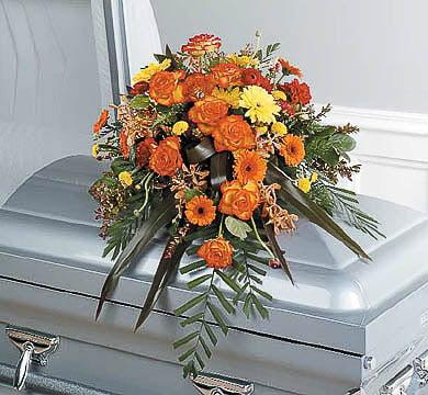 Casket-Flowers-23 Funeral Casket Flowers