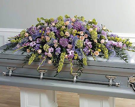 Casket-Flowers-25 Funeral Casket Flowers