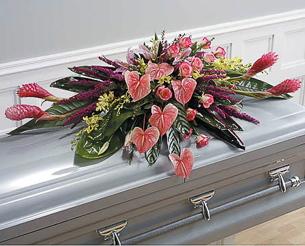 Casket-Flowers-41 Funeral Casket Flowers