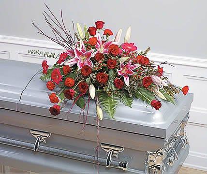 Casket-Flowers-44 Funeral Casket Flowers