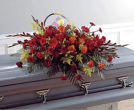 Casket-Flowers-48 Funeral Casket Flowers