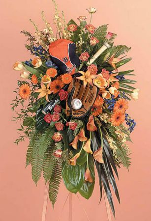 Sprays-4 Funeral Spray Flowers