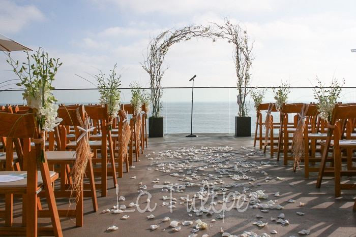 Leila and Tim's Surf and Sand Resort Wedding