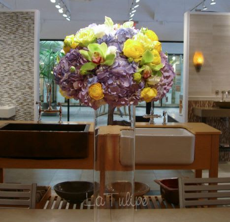 large flowers arrangement