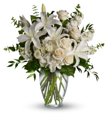 large white flower bouquet