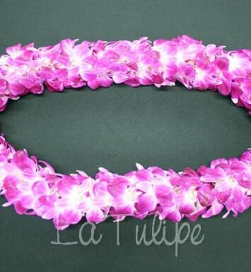 Orchid Hawaiian Lei