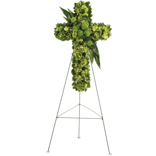 green hydrangea, green dianthus