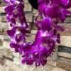 triple dendrobium orchids hawaiian lei
