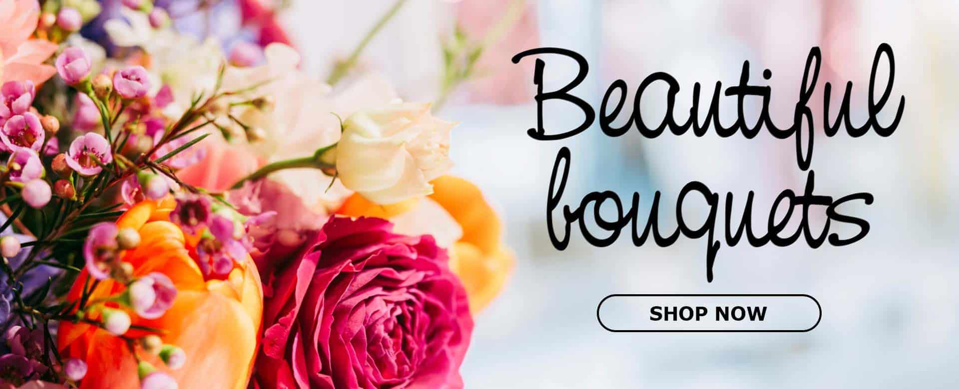 beautiful bouquet slider